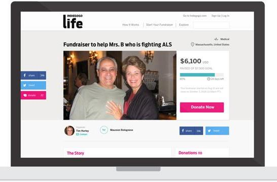 Indiegogo's new service lets you quickly raise funds for personal causes (updated)