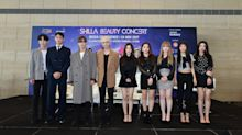What K-pop groups SHINee, Red Velvet said at the Shilla Beauty Concert press conference