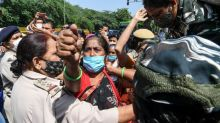 Indian police accused of forcing cremation of gang rape victim