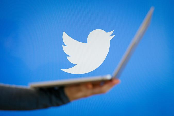 The Twitter app is seen on various digital devices on March 28, 2018. (Photo by Jaap Arriens/NurPhoto)
