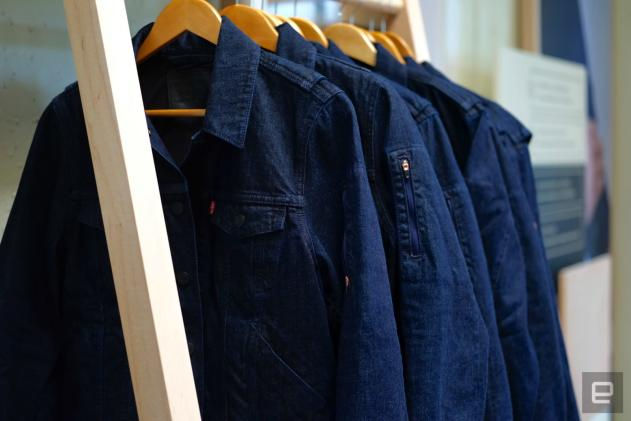 Levi's Google-powered smart jacket goes on sale next week