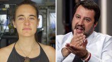 """Carola Rackete, Salvini: """"Non vedo l'ora di espellerla"""""""