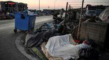 Tausende Flüchtlinge auf Lesbos verbringen dritte Nacht im Freien