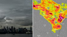 Severe thunderstorm set to smash NSW with large hail and 80km/h winds