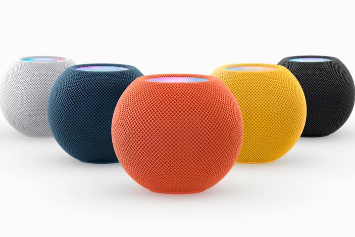Apple's HomePod mini lineup adds three new colors