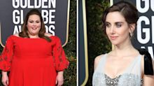 Chrissy Metz denies insulting Alison Brie at Golden Globes