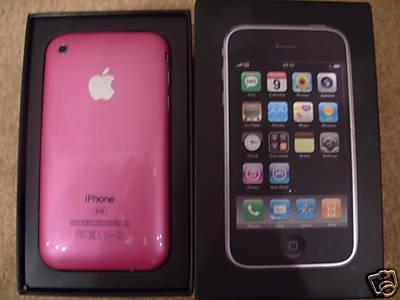 Mysterious pink iPhone 3G hits eBay, cue onslaught of rumors