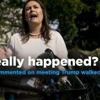Alisyn Camerota confronts Sarah Sanders on Trump's reported tantrum