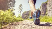 Marathonläufer trifft auf wildes Raubtier