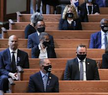 Fact check: Viral post claiming Dems didn't wear masks at John Lewis' funeral uses photo from 2015