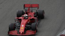 """Vettel explica su accidente: """"Intenté tomar un poco más de riesgo"""""""