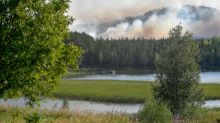 Wildfires are raging across the Arctic Circle, breaking out in Sweden, Finland, Russia and Norway