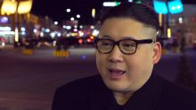 Kim Jong-un impersonator turns heads at the Olympics