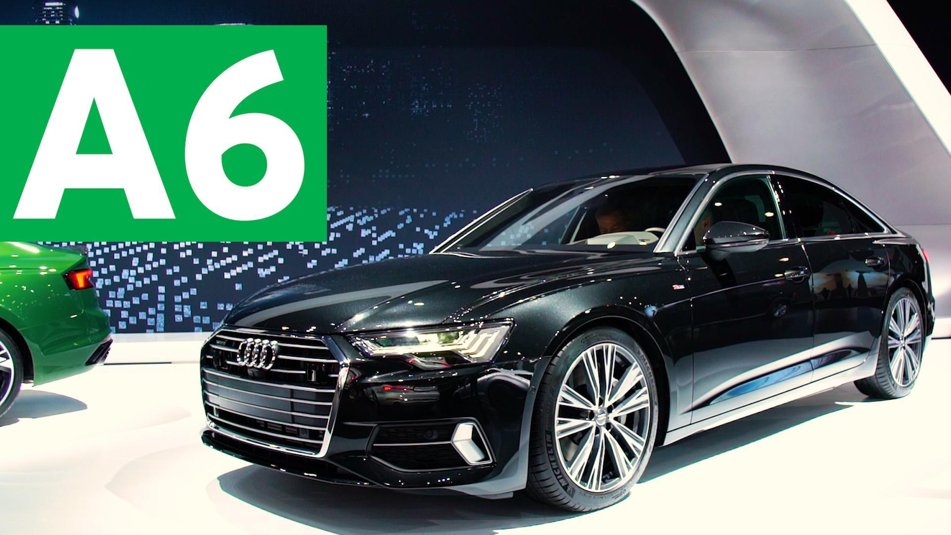 2018 new york auto show 2019 audi a6 video. Black Bedroom Furniture Sets. Home Design Ideas