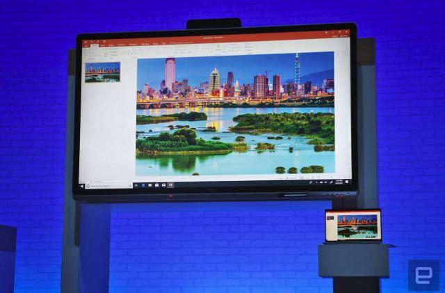 Windows Collaboration Displays are like DIY Surface Hubs