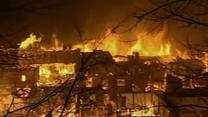 Ancient Tibetan Town in China Destroyed by Fire
