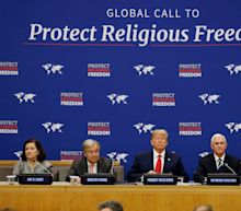 'There can be no greater crime': Trump seek to rally skeptical UN around religious freedom initiative