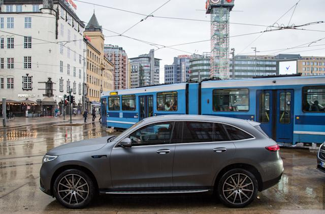 Mercedes-Benz won't sell the EQC in the US 'for now'