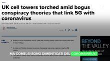 La teoria dei complottisti sulle radiazioni delle torri 5G
