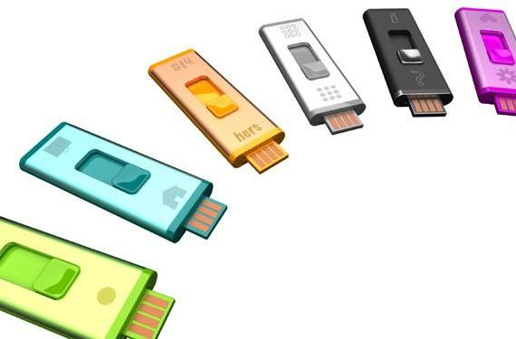 Split Stick double-sided USB drive keeps personal / private matters separate