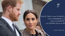 Prince Harry and Meghan Markle forced to apologise after online gaffe