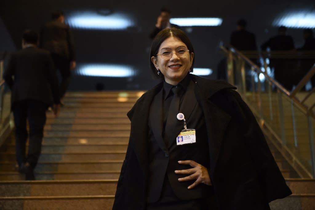 Thailand's transgender community enjoys a high profile, but still faces major hurdles in the conservative Buddhist-majority kingdom (AFP Photo/Lillian SUWANRUMPHA )
