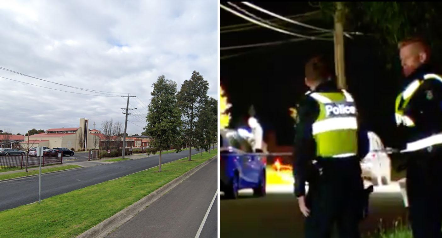 Three charged after man bashed to death near Melbourne primary school