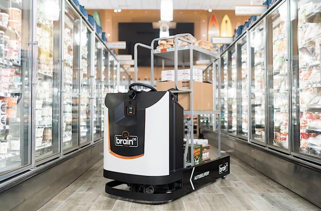 BrainCorp brings its autonomous robot tech to your local supermarket