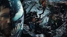 New 'Venom' trailer shows Tom Hardy and Riz Ahmed's Riot do battle