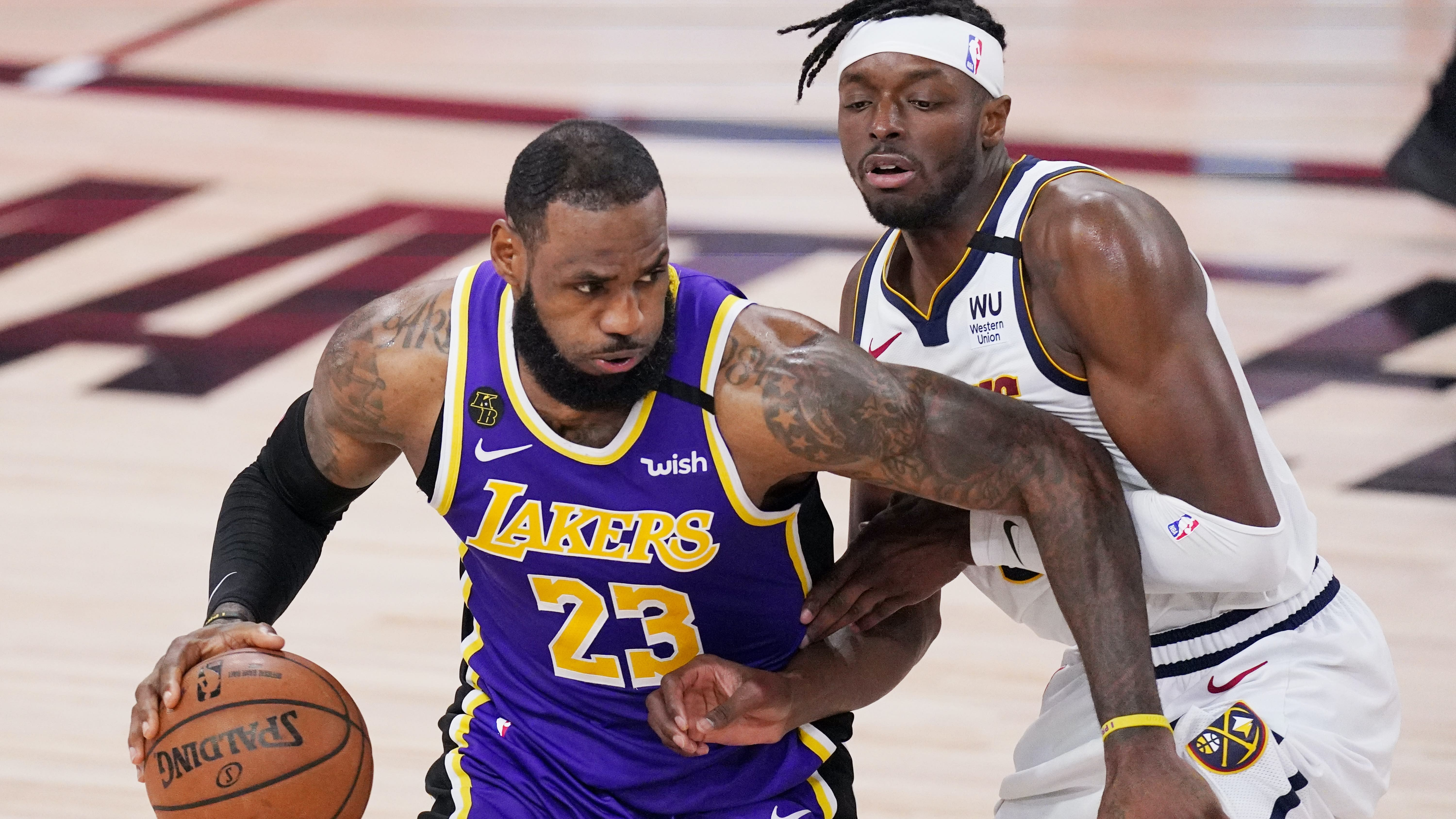 LeBron James triple-double lifts the LA Lakers to first NBA Finals in a decade