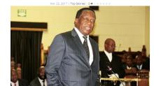 辛巴威下台萬年總統獲特赦  姆南加瓦喊和平