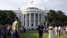 Trump's views — bleak about the U.S., rosy about coronavirus — put Republicans on the spot