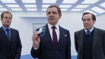 Rowan Atkinson stars in new 'Johnny English' clip