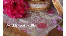 達克瓦茲 dacquoise,法國傳統甜點,外酥內軟內餡溼潤和馬卡龍一樣的令人著迷。