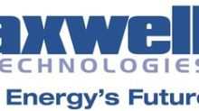 Maxwell Technologies to Showcase Ultracapacitor Systems At Energy Storage Europe--Dusseldorf