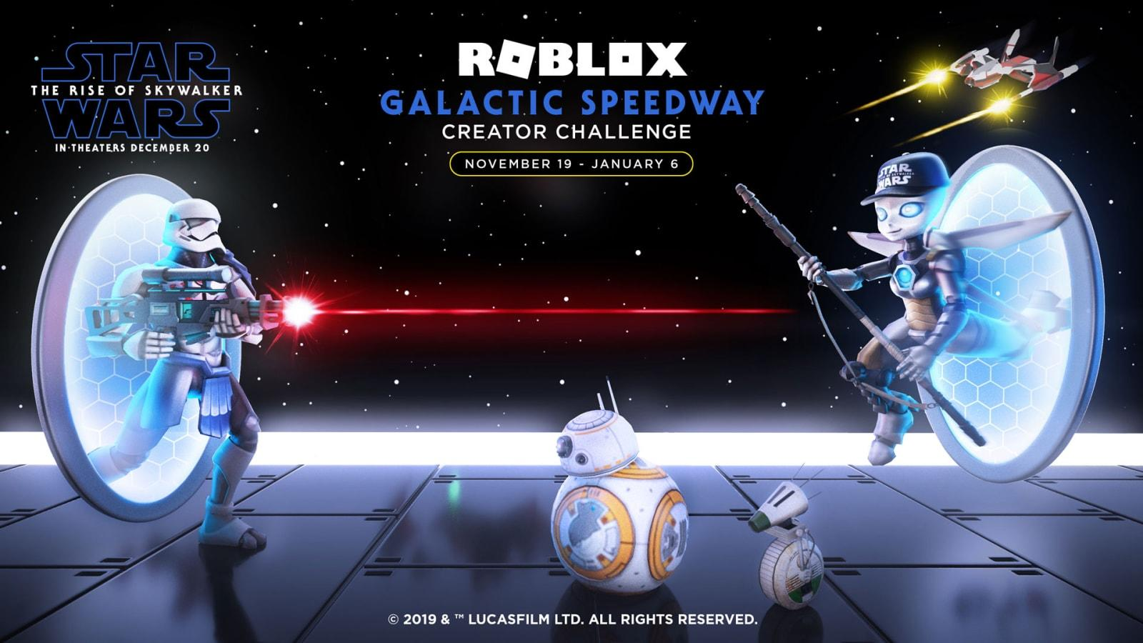 Roblox Building A Game Timelapse Roblox Wants You To Build Star Wars Speeder To Celebrate Rise Of Skywalker Engadget