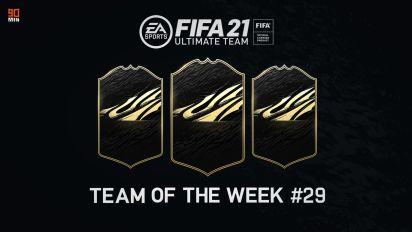 Rivelata la Squadra della Settimana 29 di FIFA 21: presenti 2 giocatori di Serie A