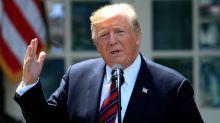 President Trump denounces restrictive abortion bans, compares himself to Ronald Reagan