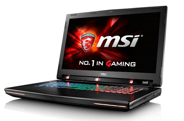 MSI's flagship gaming laptop gets an eye-tracking upgrade