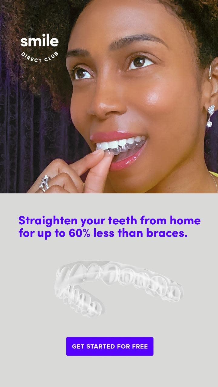 Straighten your teeth from home