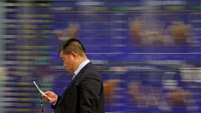 Ebbing trade worries push stocks higher