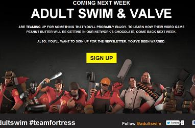 Valve and Adult Swim are planning big things together