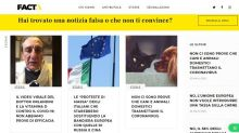 """Coronavirus, nasce nuovo sito """"Facta"""" contro le fake news"""