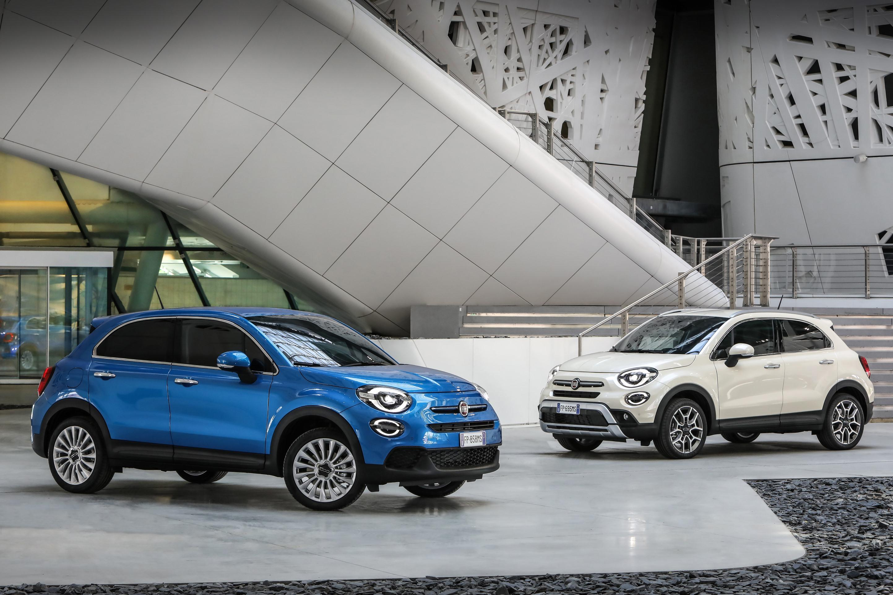 Fiat 500X Crossover >> Fiat Refreshes 500x Crossover