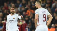 AS Roma could not cope with Liverpool's 'constant long balls', says Daniele De Rossi after Champions League thriller