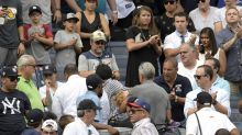Girl hit by foul ball at Yankees game 'doing OK'