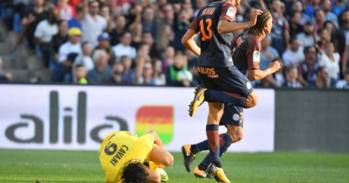 Foot - L1 - PSG - Pour Emery, un penalty sur Cavani aurait dû être sifflé face à Montpellier