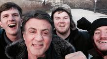 Tourists Get Knockout 'Rocky' Photo With Sylvester Stallone