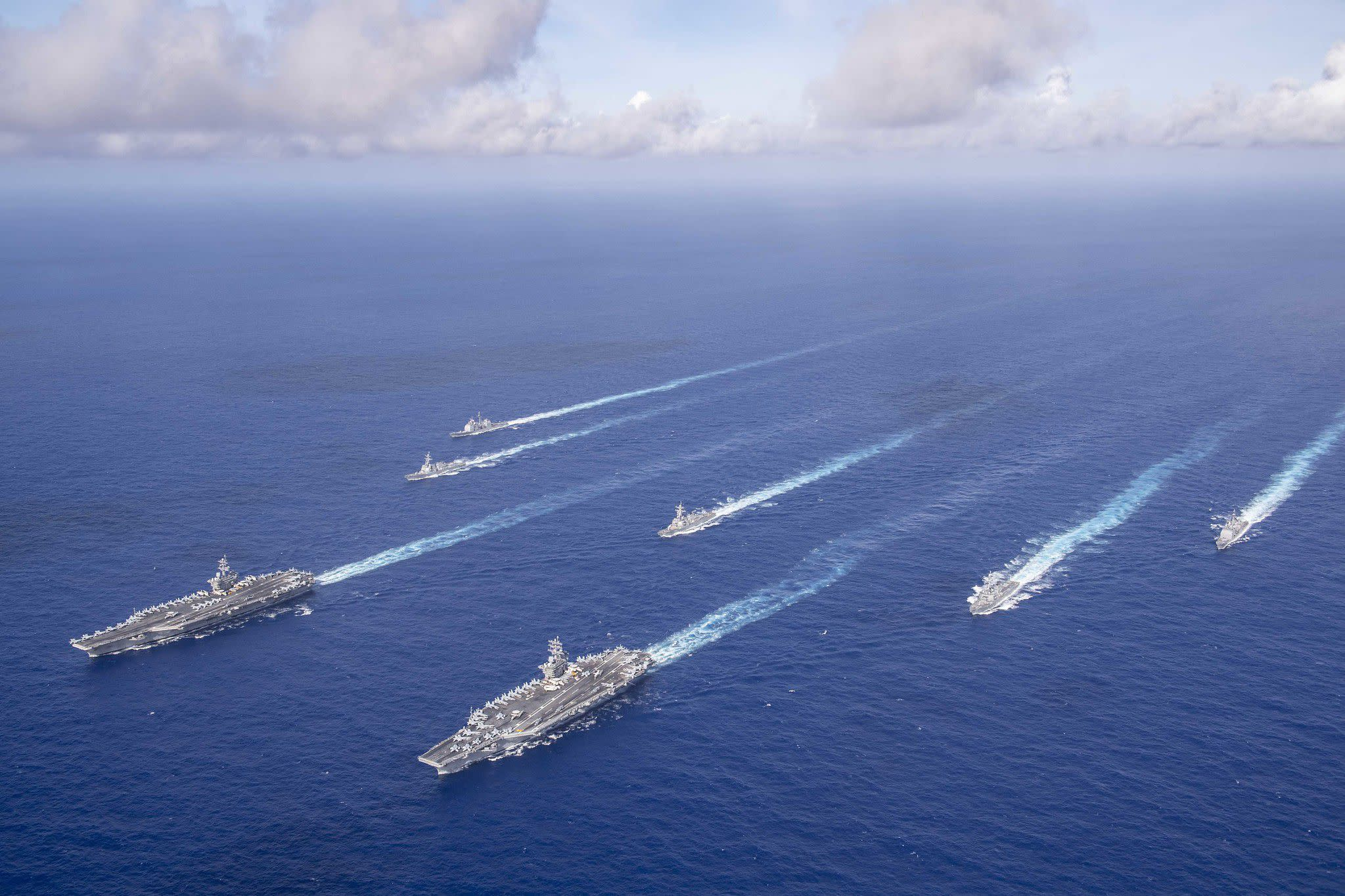 The Pentagon is eyeing a 500-ship Navy, documents reveal