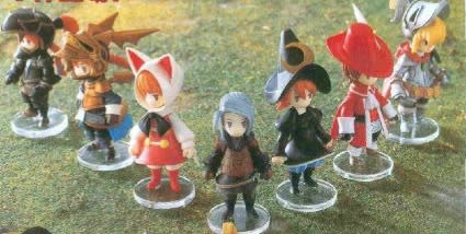 FFIII figures cute enough to melt any heart